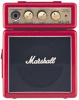 ГИТАРНЫЙ КОМБИК MARSHALL MS-2R-E MICRO AMP (RED)
