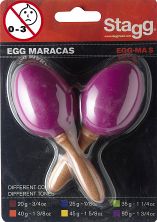 Маракасы STAGG EGG-MA S/MG